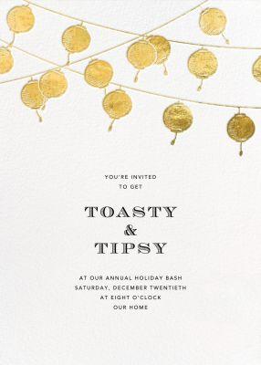 Lanterns - Paperless Post - Holiday invitations