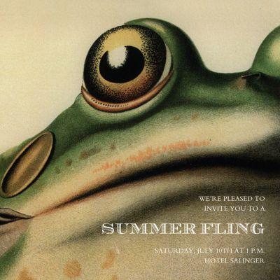 Derian's Frog - John Derian