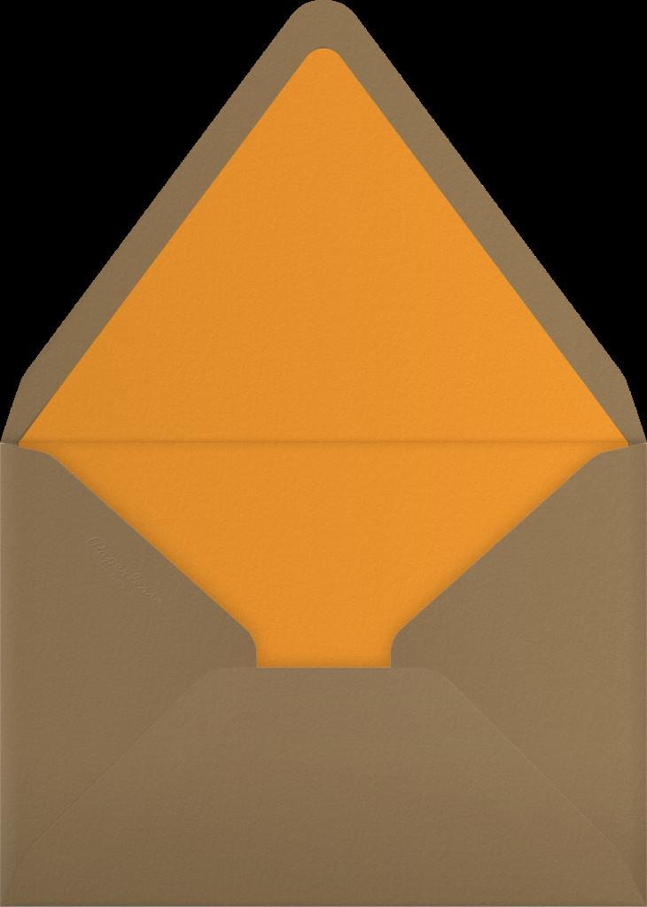 Fall Colors - Paper Source - Envelope