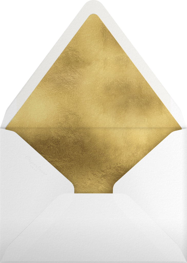 Merry Florals - Mr. Boddington's Studio - Envelope