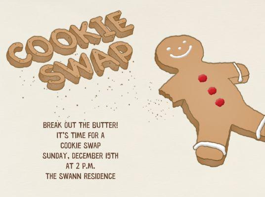 Cookie Swap - Paperless Post - Cookie swap invitations