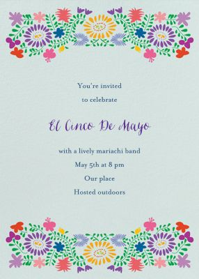 Oaxacan Wedding - Paperless Post - Summer Party Invitations