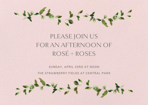 Cadenza - Venamour - Spring Party Invitations