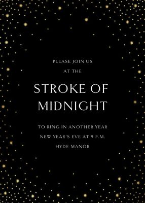 Modest Dazzle - Paperless Post - New Year's Eve Invitations