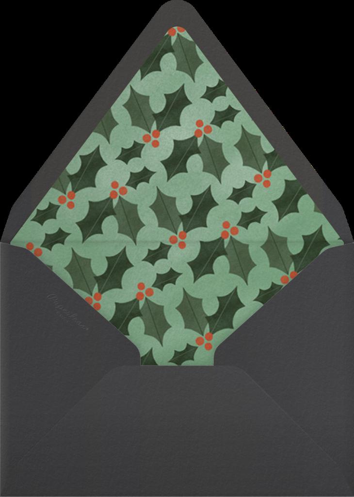 Festive Nest - Paperless Post - Envelope