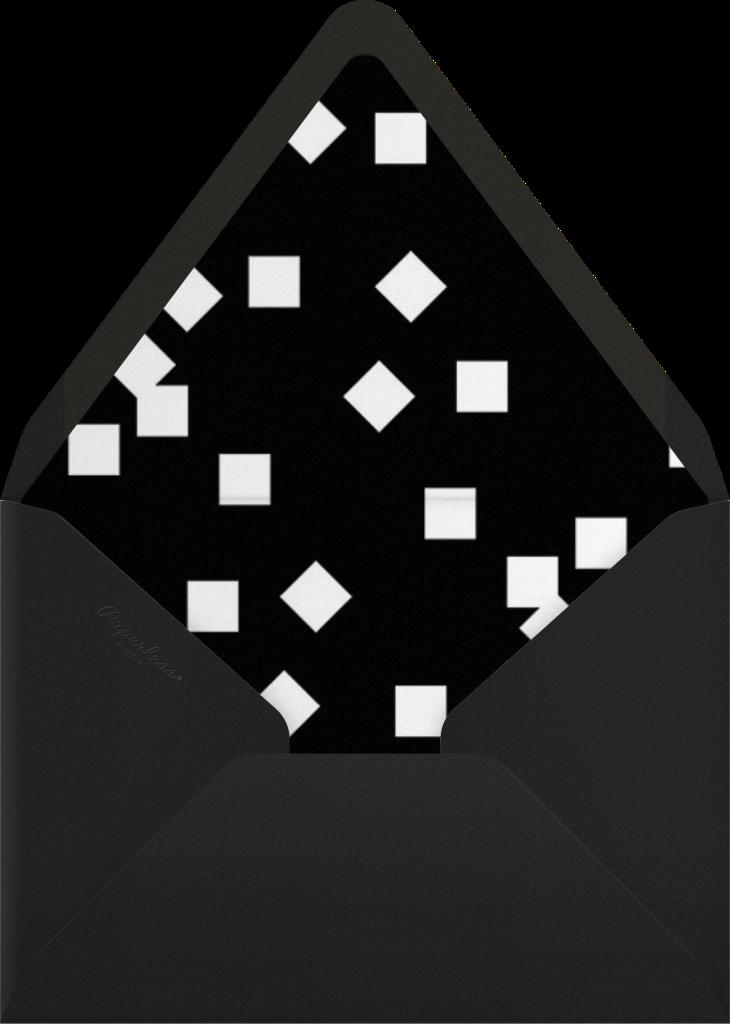 Confetti Martini - Paperless Post - Envelope