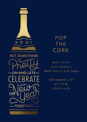 Pop Your Cork 2017 - Paperless Post