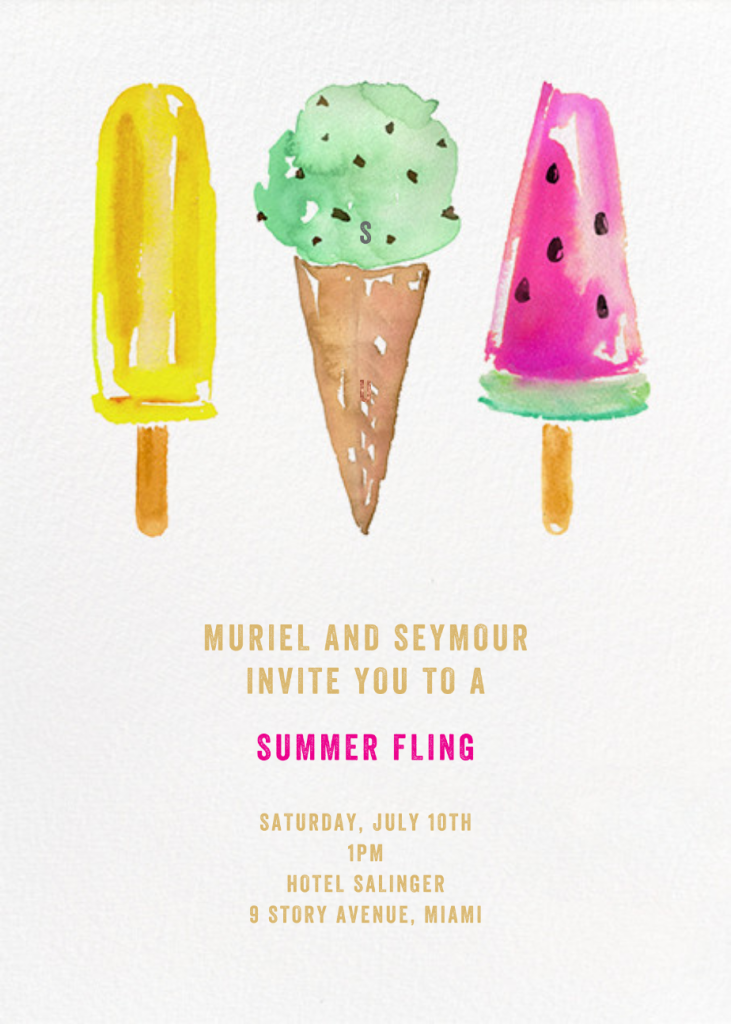 Ice Cream Party - kate spade new york
