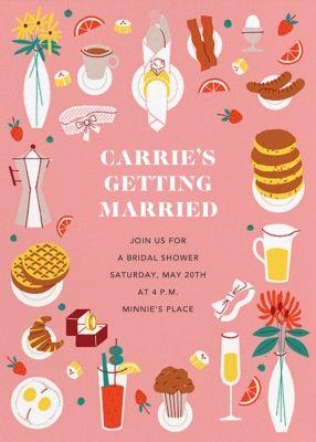 Bridal Buffet - Paperless Post