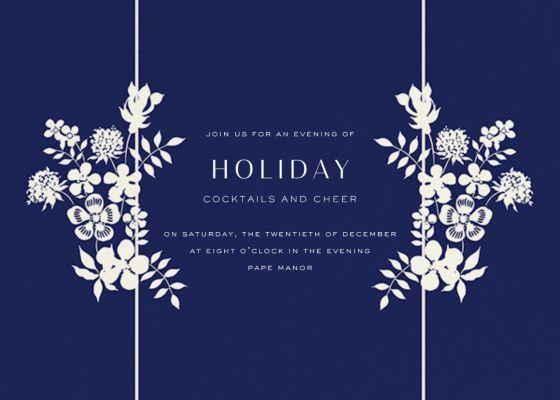 Edenham - Liberty - Holiday invitations