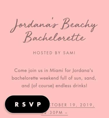 Bachelorette Party Invitations Send