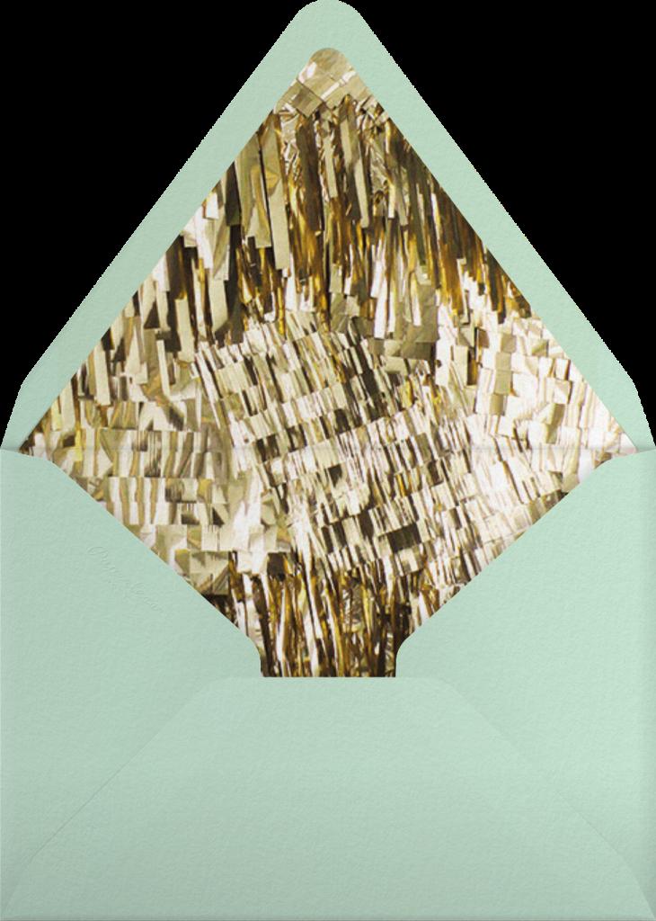 Flash - Silver - CONFETTISYSTEM - Envelope