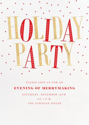 Jaunty Party - Paperless Post