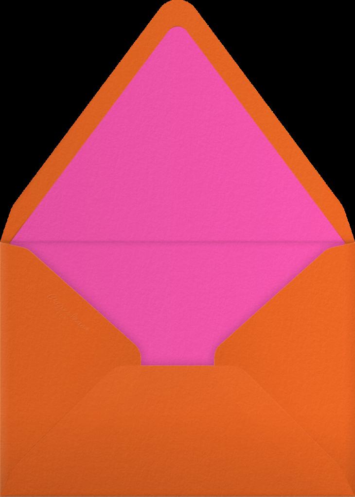 Kaleidoscope - Pink - Paperless Post - Envelope