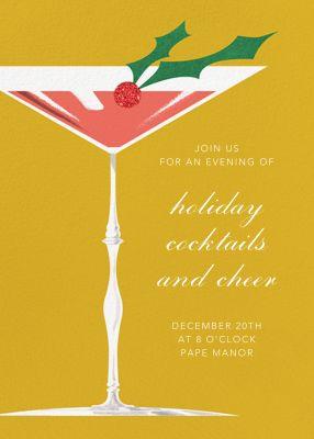 Yueltini - Paperless Post - Holiday invitations