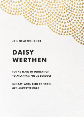 Savoy (Square) - Paperless Post - Business event invitations