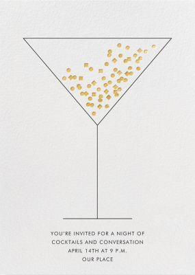 Confetti Martini - Paperless Post