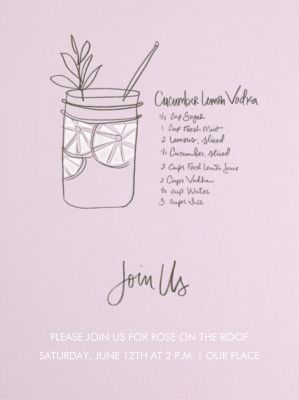 Cucumber Lemon Vodka - Linda and Harriett