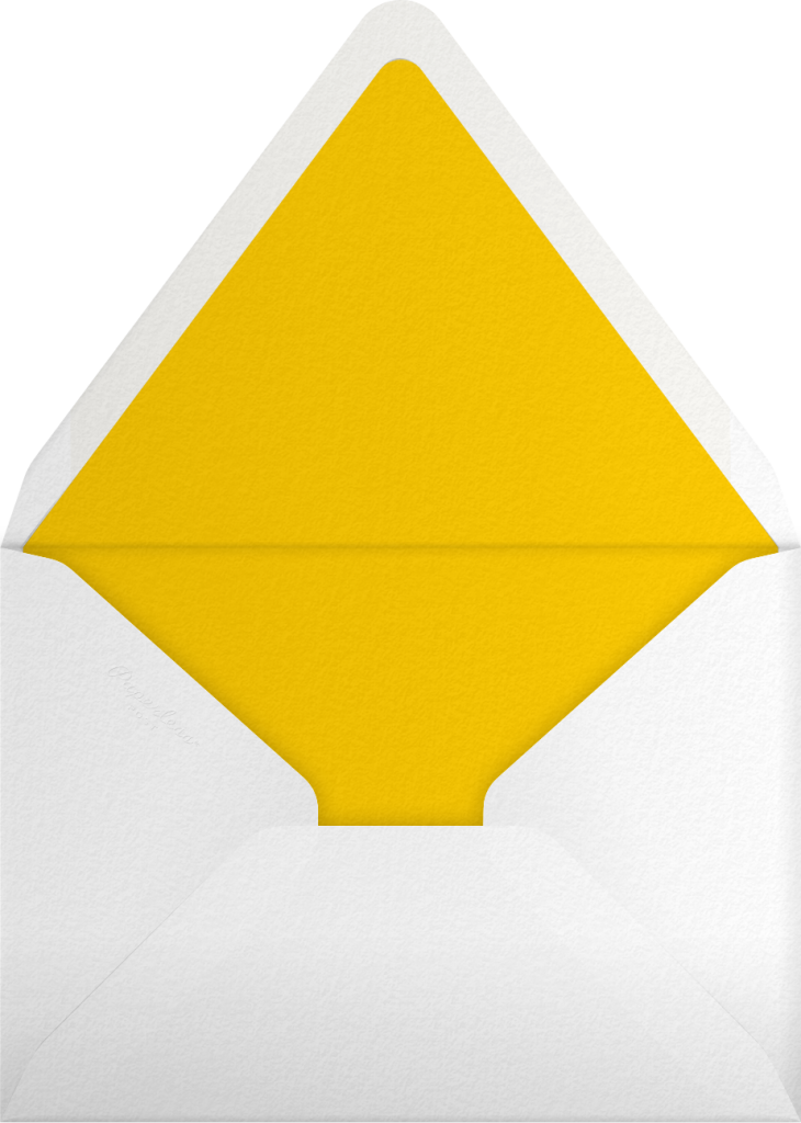 Yellow Inner Tubes - Gray Malin - Envelope