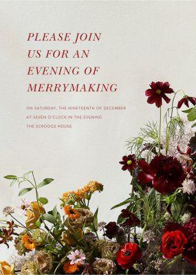 Brumaire - Putnam & Putnam - Holiday invitations