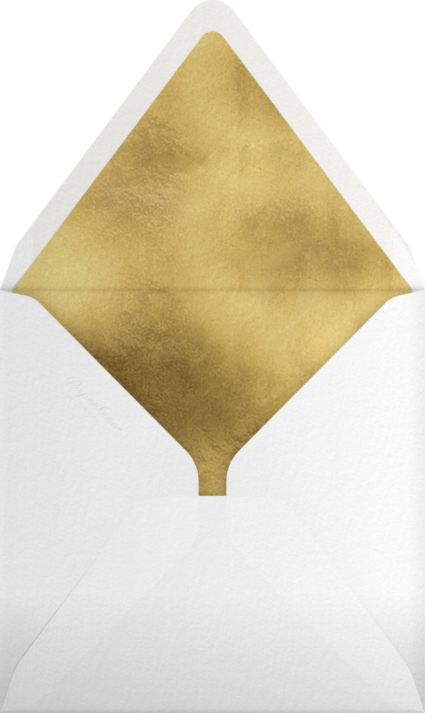 Golden Holiday - Rifle Paper Co. - Envelope