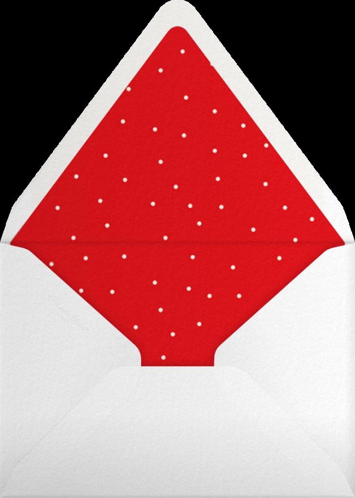 Maple Wreath - Greenwood - Paperless Post - Envelope