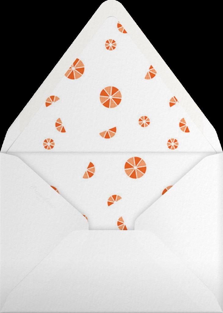 Citrus Fizz - Silver - Paperless Post - Envelope