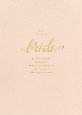Classic Bride - Sugar Paper