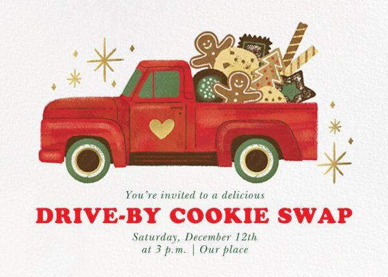 Tasty Truck - Paperless Post - Cookie swap invitations