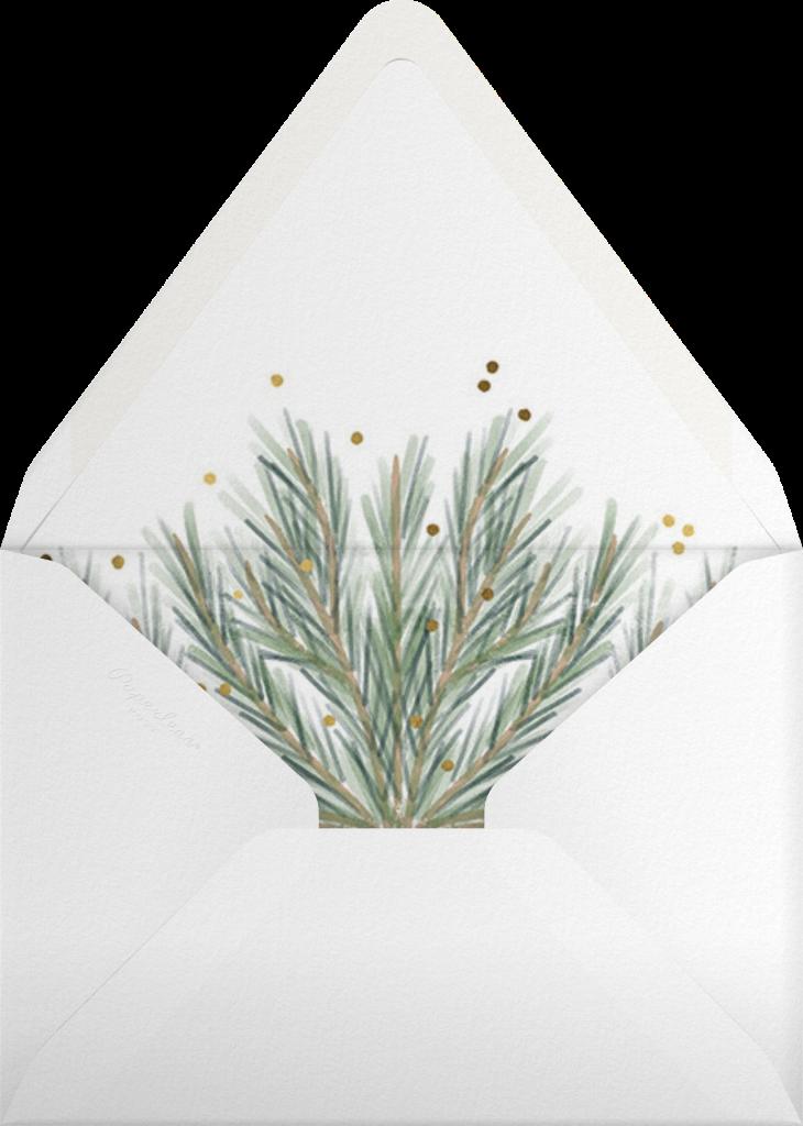Holiday Garland - Paperless Post - Envelope