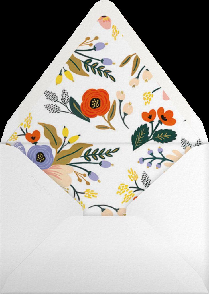Vivid Blooms - Rifle Paper Co. - Envelope