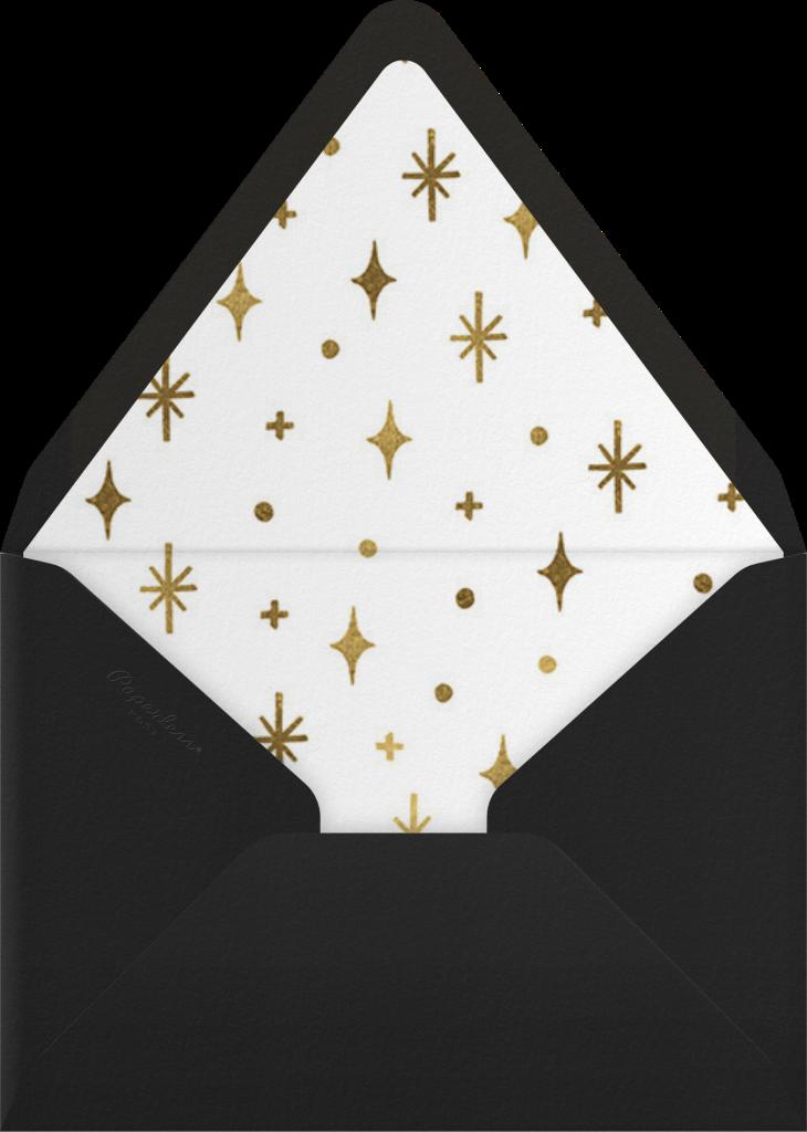 Googie Garnish - White - Paperless Post - Envelope