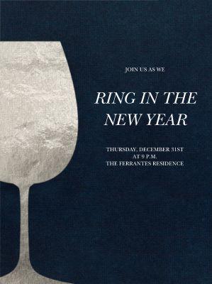 Wineglass Foil - Paperless Post