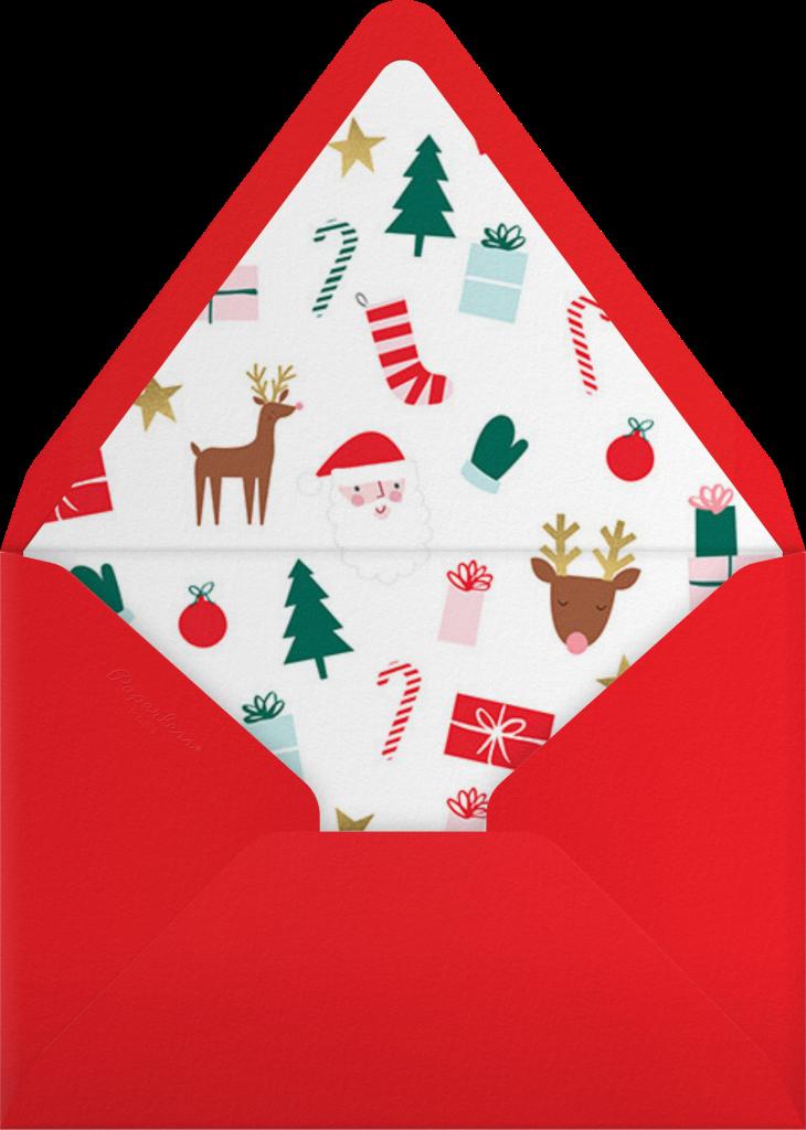 Busy Elf - Light - Meri Meri - Envelope