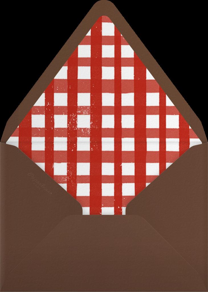 Cheeseburger - Paperless Post - Envelope