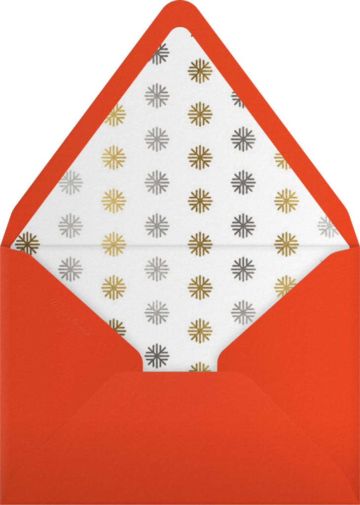 Naughty and Nice - Paperless Post - Envelope