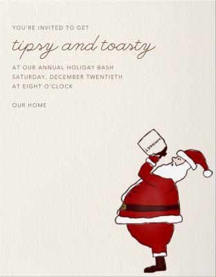 Whiskey Santa - Paperless Post
