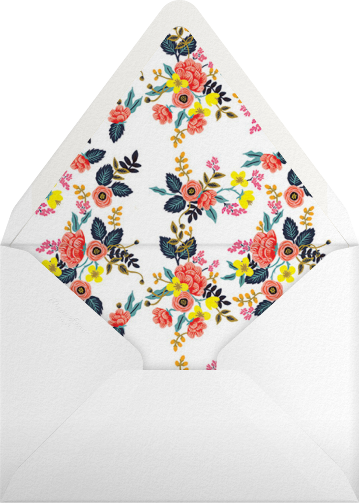 Birch Monarch (Frame) - Ivory - Rifle Paper Co. - Envelope