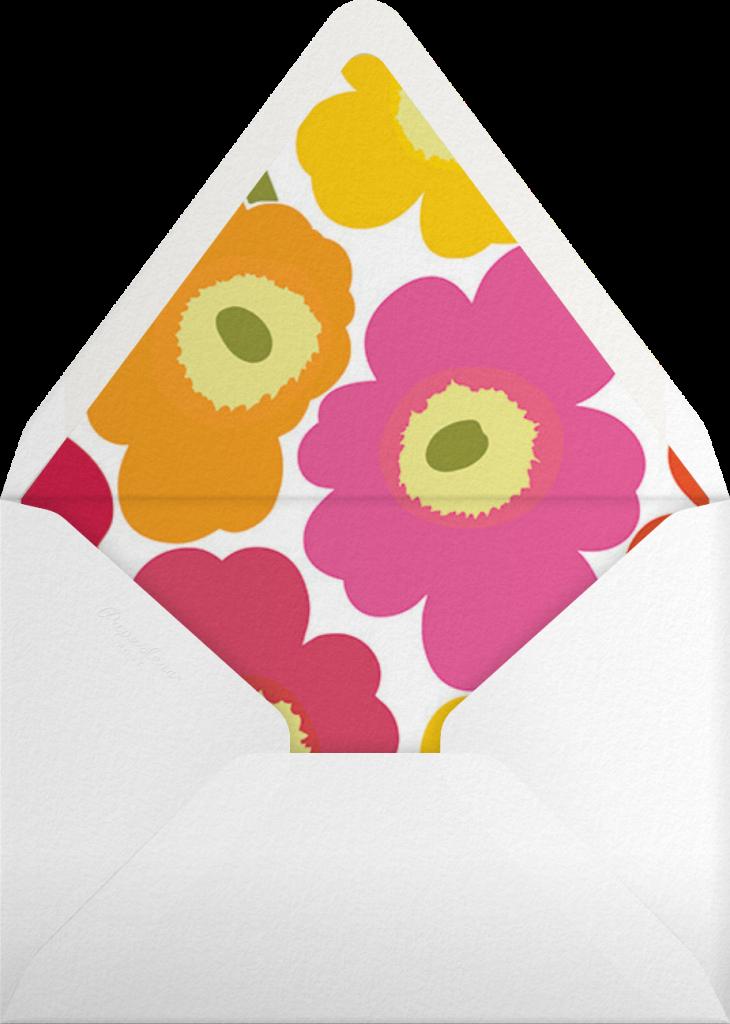 Unikko (Tall) - Pink Multi - Marimekko - Envelope