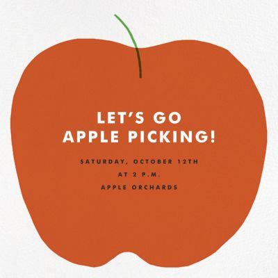 Apple in Season - The Indigo Bunting