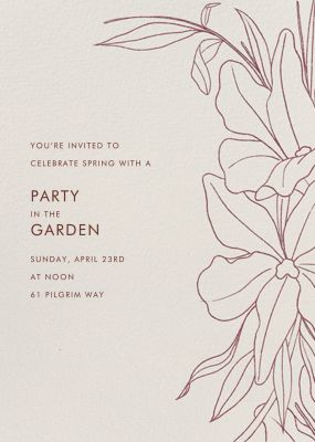 Aubrey - Paperless Post - Spring Party Invitations