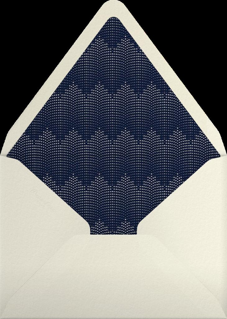 Rosina - Navy - Paperless Post - Envelope