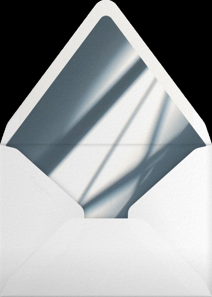 Idylle - White/Silver - Paperless Post - Envelope