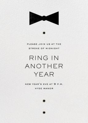 Black Tie Affair - Paperless Post