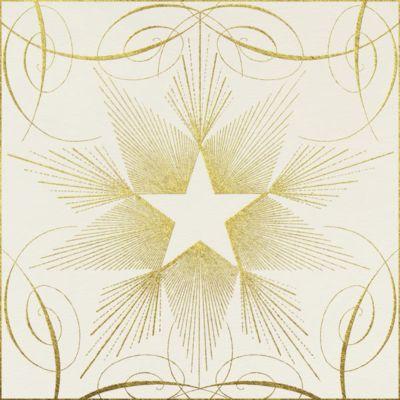 Star - Gold - John Derian - New Year's Eve Invitations