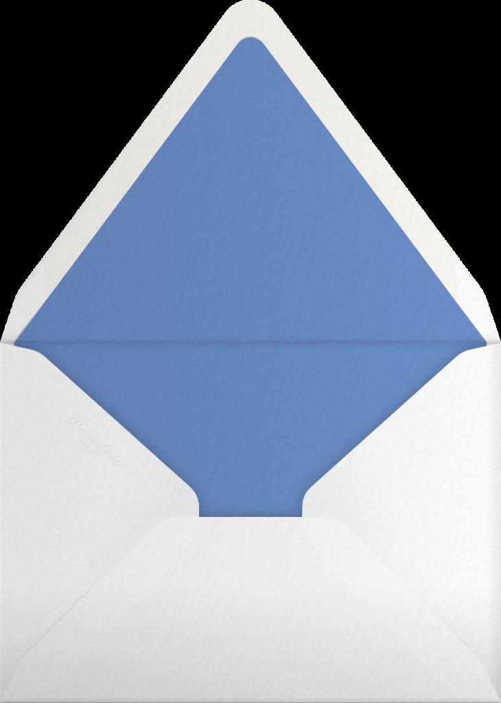 Gradient Painted - Blue - Paperless Post - Envelope