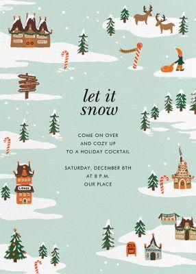 Winter Wonderland - Rifle Paper Co. - Holiday invitations
