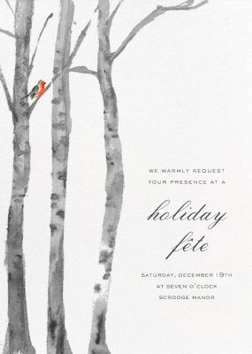 Birchwood - Paperless Post - Company holiday party