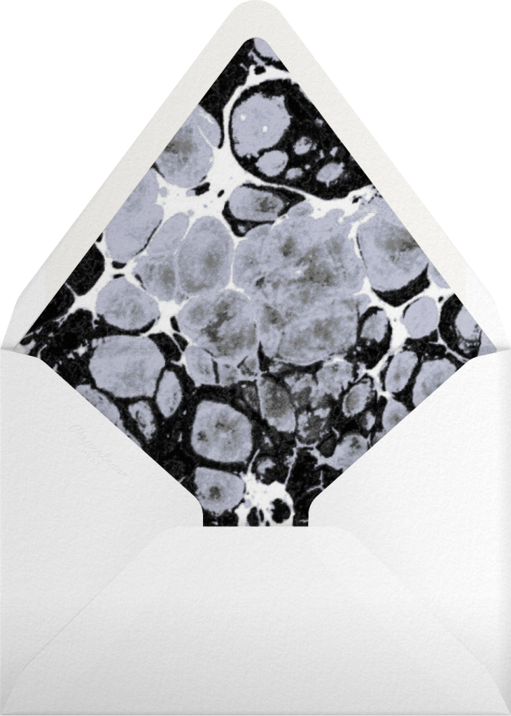 Stellar (Invitation) - Silver - Kelly Wearstler - Envelope