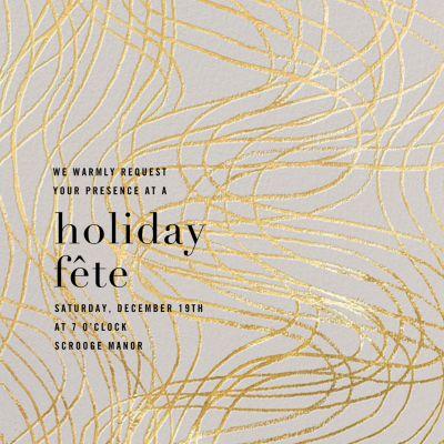 Scrawl - Kelly Wearstler - Holiday invitations